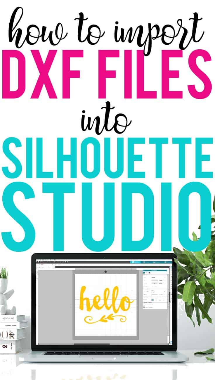 This step by step tutorial shows you how to import DXF files into Silhouette Studio.
