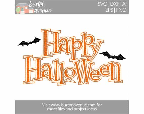 24+ Happy Halloween Svg Cut File, Dxf And Png File DXF