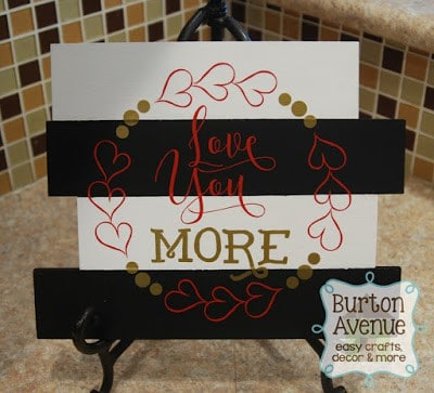 Silhouette and Cricut Valentine Project and Free Valentine SVG Files