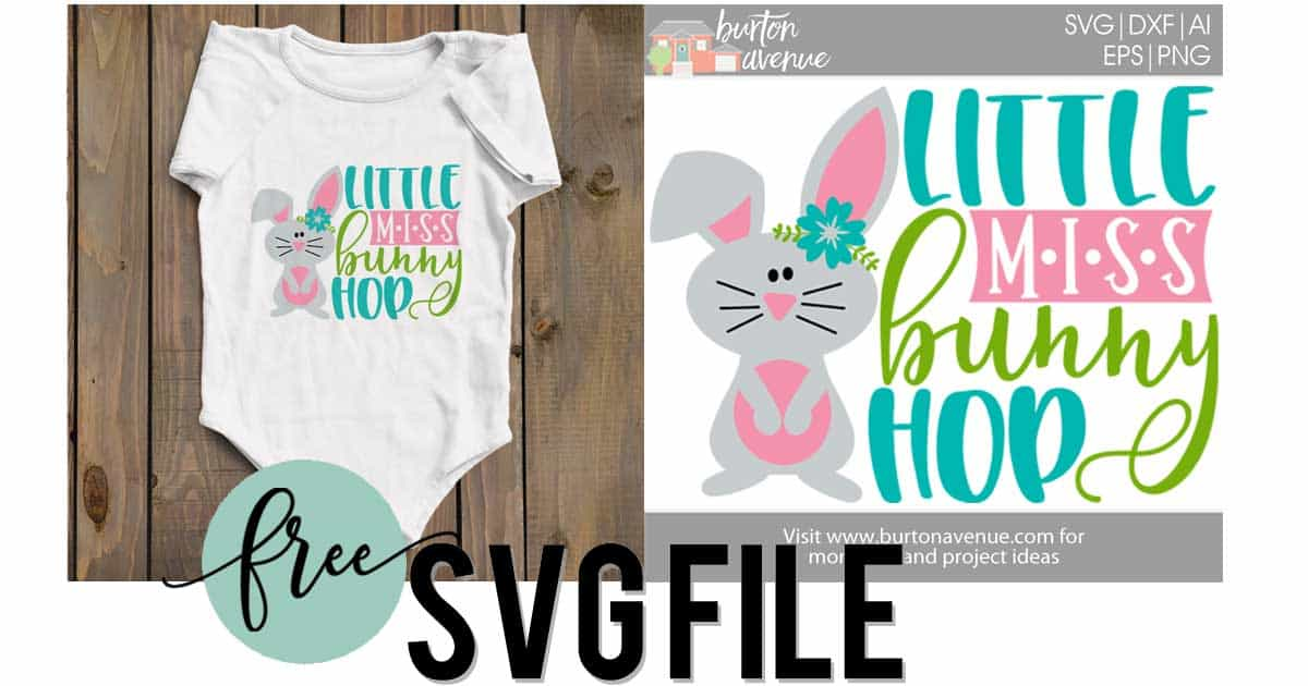 Little Miss Bunny Hop Burton Avenue