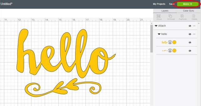 This step by step tutorial shows you how to import SVG files into Design space.