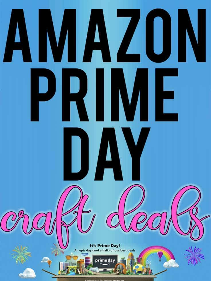 #amazonprimeday #amazonprime A list of craft related items on sale for Amazon Prime Day