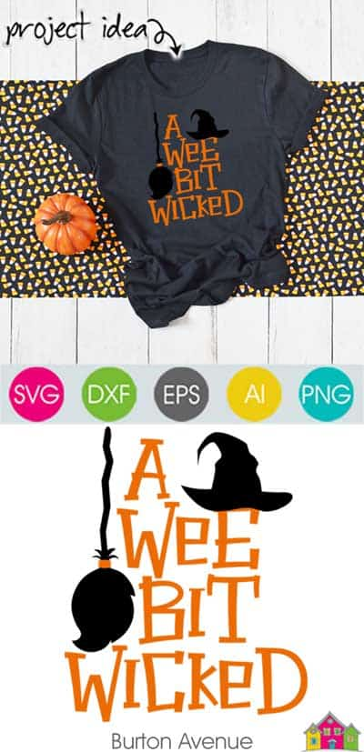 A Wee Bit Wicked – Limited Time Free SVG File