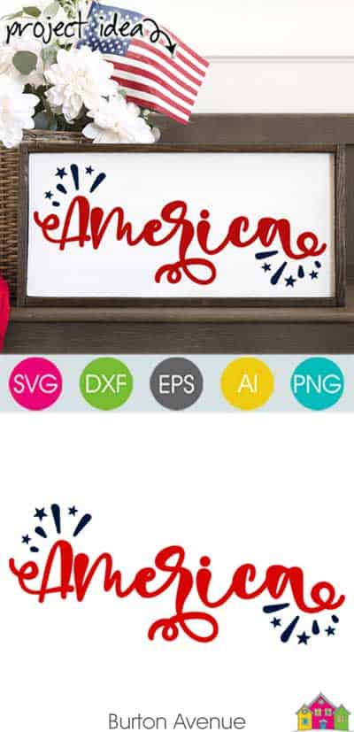 America SVG File
