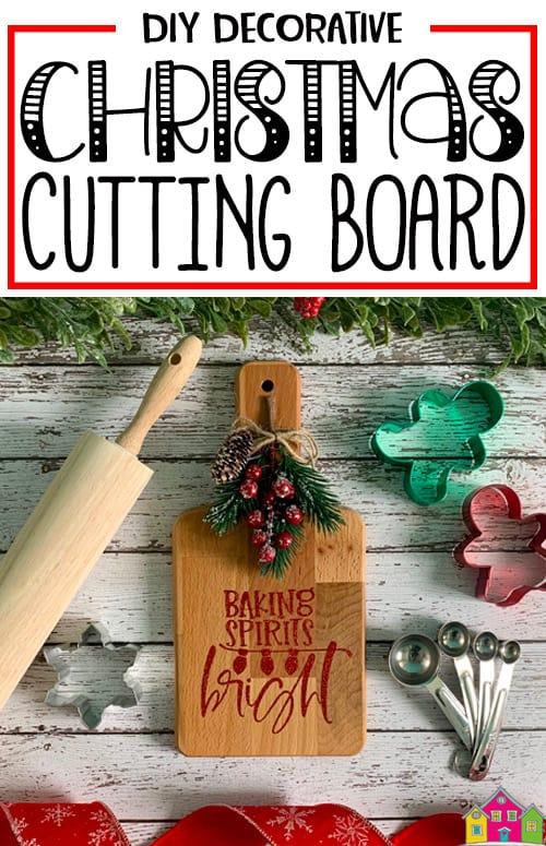 Decorative Christmas Cutting Board