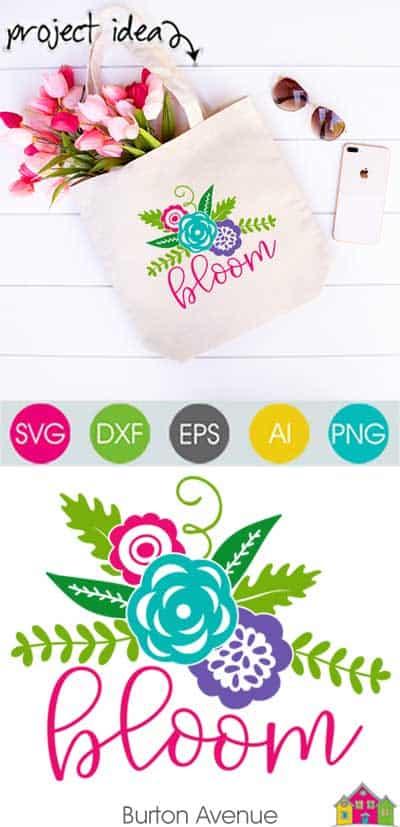 Bloom SVG File