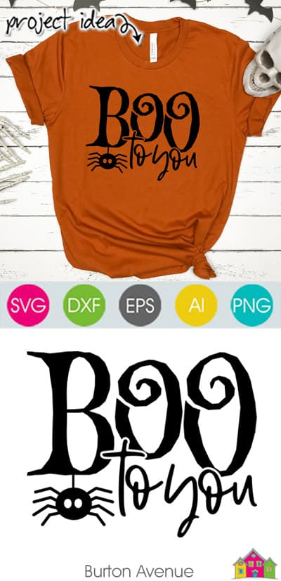 Boo to You SVG File