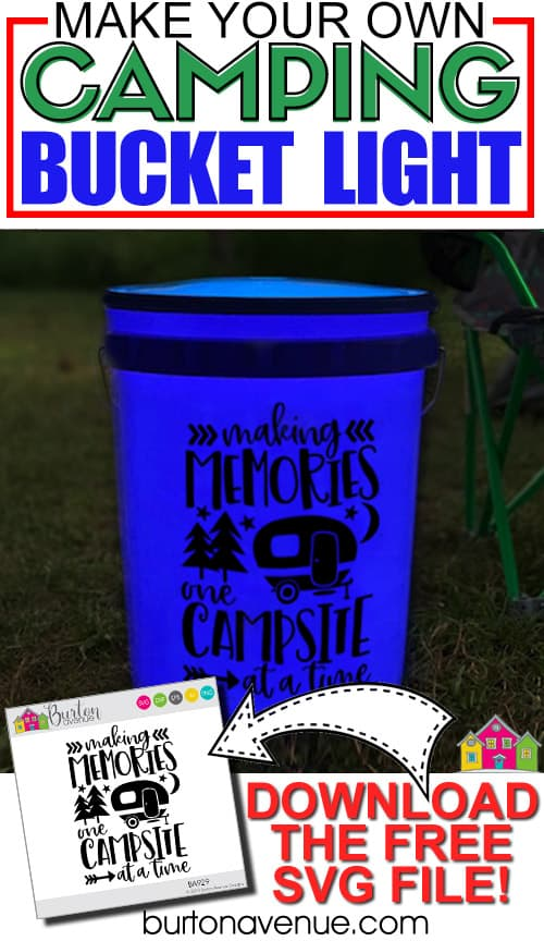 How to Make a Bucket Light for Camping