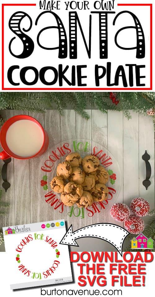 DIY Cookies for Santa Plate