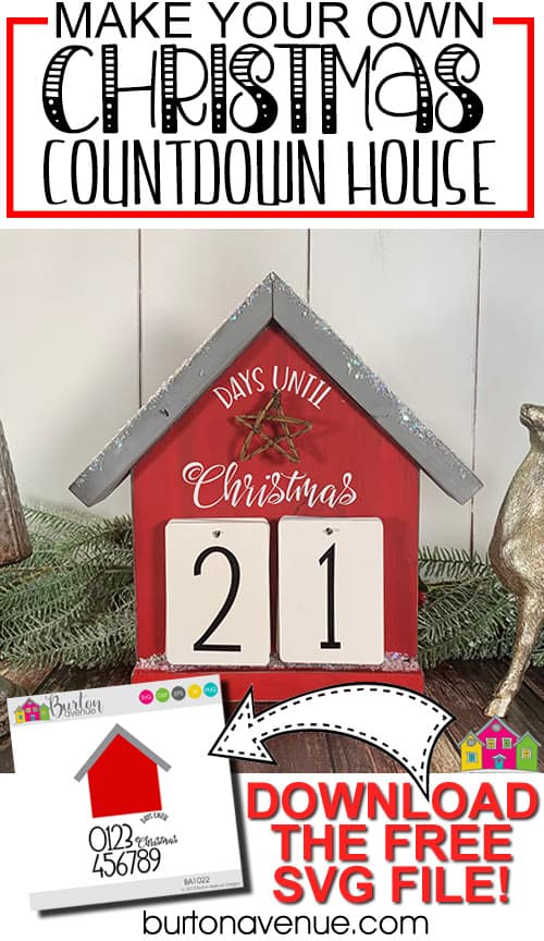 DIY Christmas Countdown House