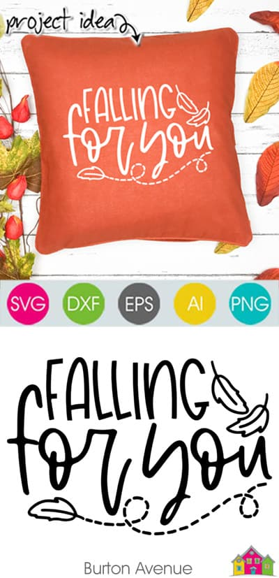 Falling for You SVG File