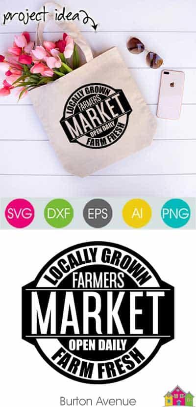Farmers Market SVG File