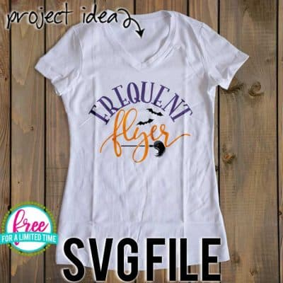 So many possibilities of DIY projects with this Free Frequent Flyer SVG. Make signs, pillows, t-shirts and more for with this Free Frequent Flyer SVG file. Free Ai, SVG, PNG, EPS & DXF download. Free Frequent Flyer SVG files works with Cricut, Cameo Silhouette and other major cutting machines. #halloweensvg #halloweencricut #halloweensilhouette #witchsvg #silhouette #cricutexplore