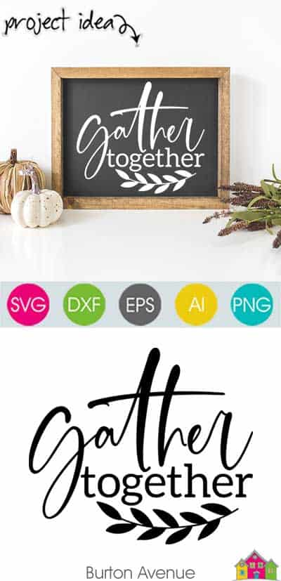 Gather Together SVG File