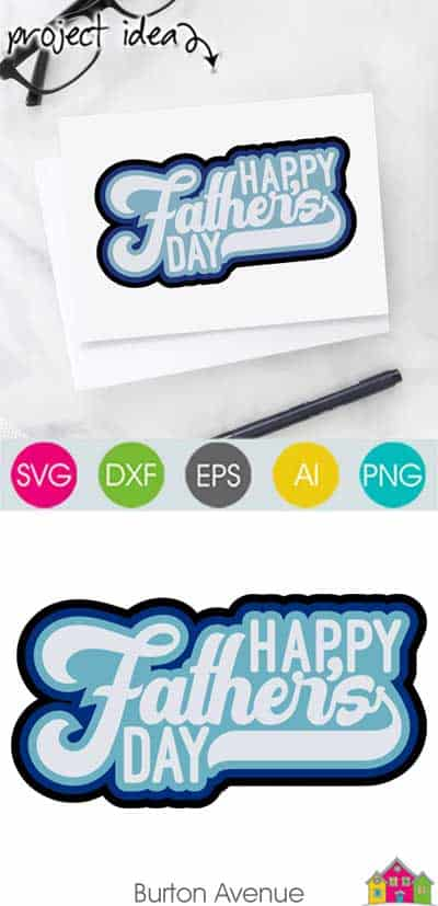 Happy Father's Day SVG File