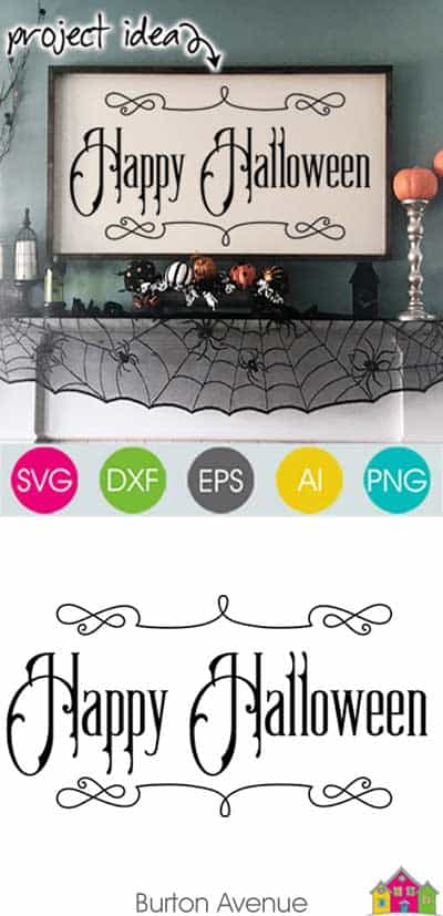 Happy Halloween – Limited Time Free SVG File