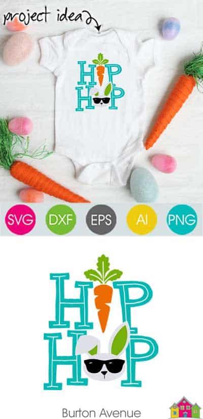 Hip Hop SVG File