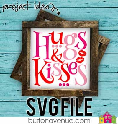 This free SVG file will be available to download for free until 1/31/19. So many possibilities of DIY projects with this Free Hugs & Kisses SVG. Make signs, pillows, t-shirts and more with this Free Hugs & Kisses SVG file. Free Ai, SVG, PNG, EPS & DXF download. Free Hugs & Kisses SVG files works with Cricut, Cameo Silhouette and other major cutting machines. #hugsandkissessvg #valentinesilhouette #valentinecircut #valentinesvg #silhouette #cricutexplore