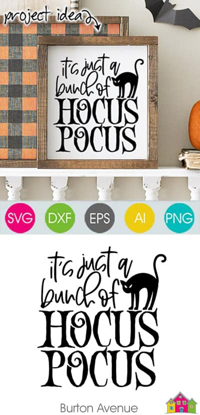It's Just a Bunch of Hocus Pocus SVG File