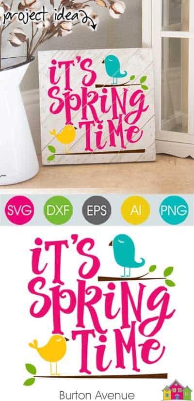 It's Springtime SVG File