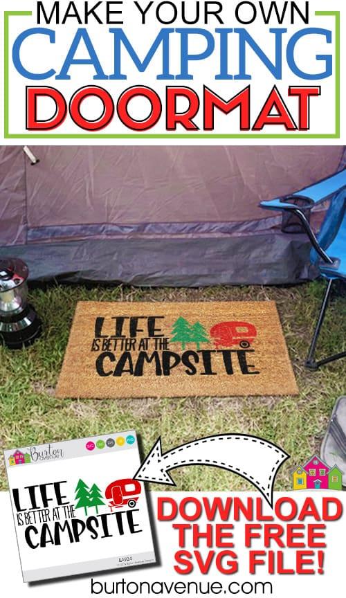 DIY Camping Doormat