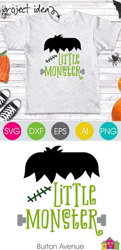 Little Monster – Limited Time Free SVG File