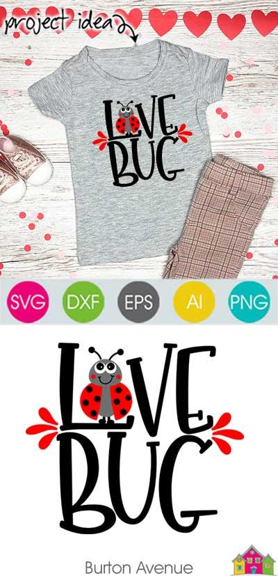 Love Bug SVG File