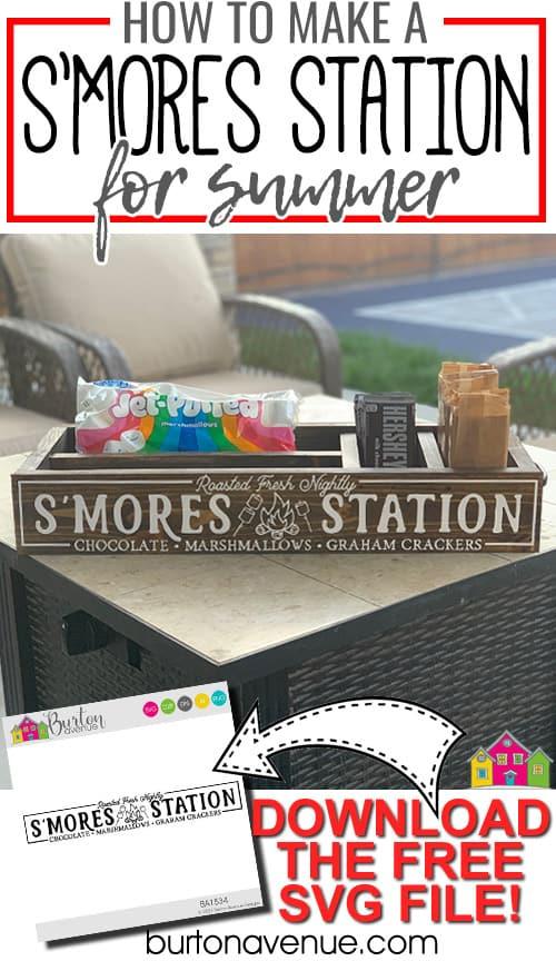 DIY S'mores Station
