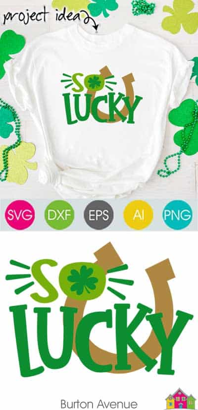 So Lucky – Limited Time Free SVG File