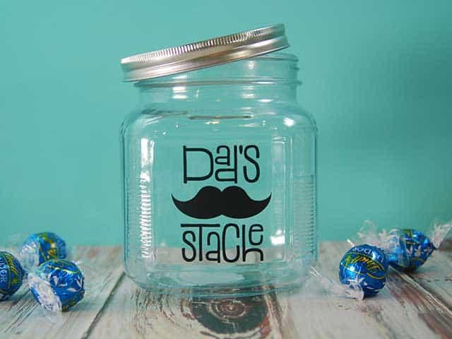 Diy Dad S Stache Treat Jar Burton Avenue