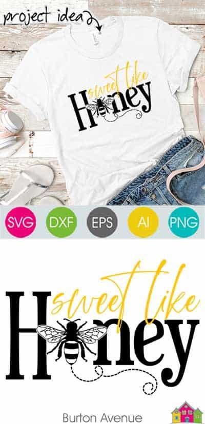 Sweet Like Honey SVG File