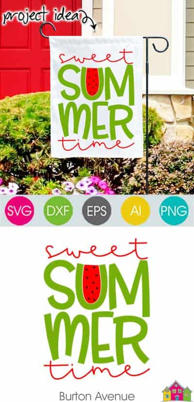 Sweet Summertime SVG File