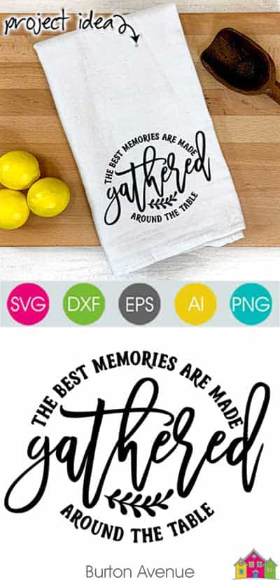The Best Memories are Made SVG File