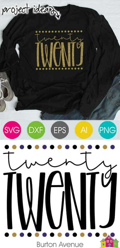 Twenty Twenty – Limited Time Free SVG File