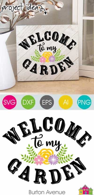 Welcome to my Garden SVG File