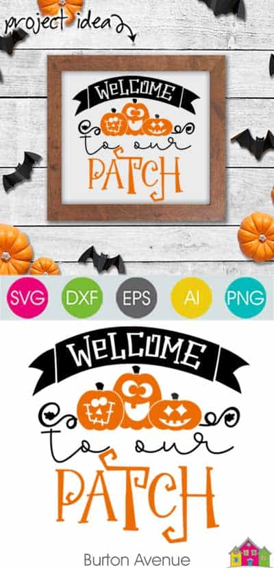 Welcome to our Patch – Limited Time Free SVG File