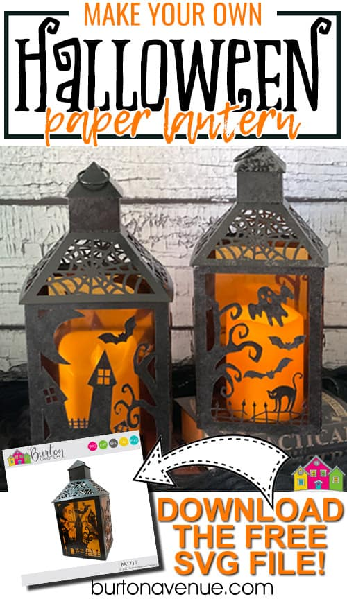 DIY Halloween Paper Lanterns