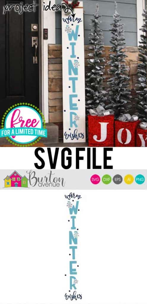 So many possibilities of DIY projects with this Free Warm Winter Wishes SVG. Make signs, pillows, t-shirts and more for Christmas with this Free Warm Winter Wishes SVG file . Free Ai, SVG, PNG, EPS & DXF download. Free Warm Winter Wishes SVG files works with Cricut, Cameo Silhouette and other major cutting machines. #christmassvg #wintercricut #wintersilhouette #wintersvg #silhouette #cricutexplore